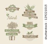 retro emblem | Shutterstock .eps vector #129221015
