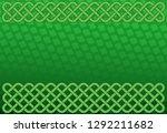 rich green saint patrick's day... | Shutterstock .eps vector #1292211682