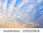 morning sky before sunrise. | Shutterstock . vector #1292225818