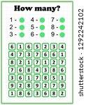 worksheet . mathematics task....   Shutterstock .eps vector #1292242102