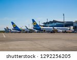 boryspil  ukraine   may 26 ... | Shutterstock . vector #1292256205