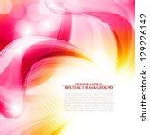 artistic flower of your love....   Shutterstock .eps vector #129226142