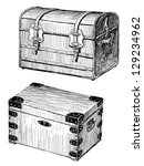 old chests | Shutterstock . vector #129234962
