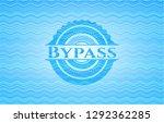 bypass light blue water style... | Shutterstock .eps vector #1292362285
