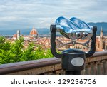 cathedral of santa maria del... | Shutterstock . vector #129236756