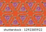 modern stylish texture.... | Shutterstock . vector #1292385922