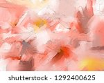 abstract colorful oil painting... | Shutterstock . vector #1292400625