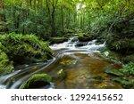 Mountain River Stream Waterfal...