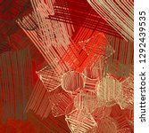 abstract painting backdrop on... | Shutterstock . vector #1292439535