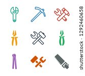 wrench icons. trendy 9 wrench... | Shutterstock .eps vector #1292460658
