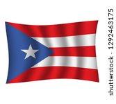 puerto rico flag background... | Shutterstock .eps vector #1292463175