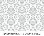 floral pattern. vintage... | Shutterstock .eps vector #1292464462