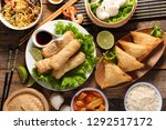 asian food assortment | Shutterstock . vector #1292517172