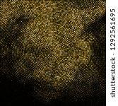 gold glitter halftone dotted... | Shutterstock .eps vector #1292561695