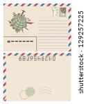 Vintage Travel Envelope  ...
