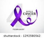 illustration of 4 february... | Shutterstock .eps vector #1292580562