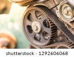 vehicle belts deteriorate.   Shutterstock . vector #1292606068