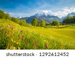 beautiful view of idyllic... | Shutterstock . vector #1292612452