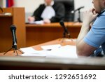 Trial In The Courtroom Of The...