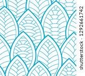 seamless abstract pattern.... | Shutterstock .eps vector #1292661742