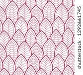 seamless abstract pattern.... | Shutterstock .eps vector #1292661745