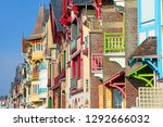 second house at mers les bains  ... | Shutterstock . vector #1292666032