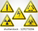 safety sign icon | Shutterstock .eps vector #129273206
