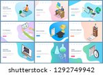 online education and webinar... | Shutterstock .eps vector #1292749942