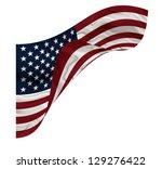 american flag | Shutterstock . vector #129276422