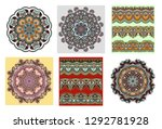 collection of seamless...   Shutterstock .eps vector #1292781928