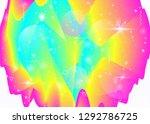 vibrant gradients on rainbow...   Shutterstock .eps vector #1292786725