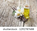 vanilla and jasmine oil | Shutterstock . vector #1292787688