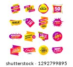 sale banner templates design.... | Shutterstock .eps vector #1292799895