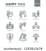 human resource and life style... | Shutterstock .eps vector #1292812678