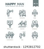human resource and life style... | Shutterstock .eps vector #1292812702