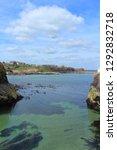 Dunbar Cliffs And Sea