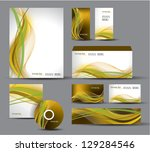 modern identity package. vector ... | Shutterstock .eps vector #129284546