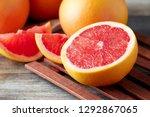 Fresh Raw Grapefruit  Citrus X...