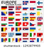 collection of flags from all... | Shutterstock .eps vector #1292879905