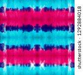 tie dye seamless pattern. hand...   Shutterstock . vector #1292884018