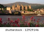 Conwy Town And Castle On The...