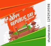 illustration of happy republic...