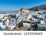 amorgos island  aerial view of... | Shutterstock . vector #1292924665