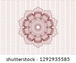 red money style emblem or...   Shutterstock .eps vector #1292935585