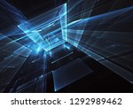 computer generated abstract... | Shutterstock . vector #1292989462