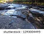 canyon falls rest area. scenic... | Shutterstock . vector #1293004495