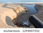 industrial wastewater  the... | Shutterstock . vector #1293007552