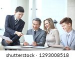 project manager and business... | Shutterstock . vector #1293008518