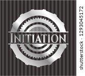 initiation silvery shiny emblem | Shutterstock .eps vector #1293045172