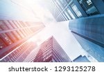 low angle view of skyscrapers | Shutterstock . vector #1293125278